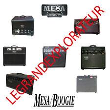 Ultimate Mesa Boogie  Owner  Repair & Service Schematics Manuals  DVD  manual s