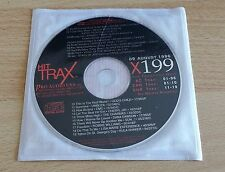 HIT TRAX (CELINE DION, ROBBIE WILLIAMS, SUN...!) - CD PROMO COMPILATION