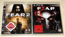 2 PLAYSTATION 3 SPIELE SAMMLUNG - FEAR 2 & F.E.A.R. 3