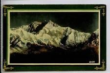 (Gg416-100) Kinchinjunga, Darjeeling, India c1910 Unused VG