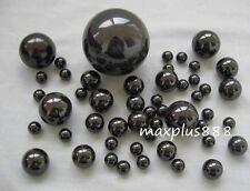 "50pcs Black 3.175mm 1/8"" Ceramic Bearing Ball Si3N4 G5 Diameter 3.175mm"