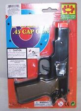 2 CAP GUN 45 PLASTIC SHOOTER play toy guns boy TOYS new play pistol NOISE NEW