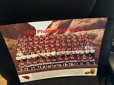 Arizona Cardinals Team Photo - 1989 - MINT - RARE - Neil Lomax