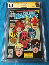 New Warriors #25 - Marvel - CGC SS 9.8 NM/MT - Signed by Mark Bagley