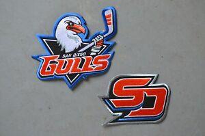 CHOICE of: San Diego Gulls ECHL Throwback Minor League Hockey Jersey Patch