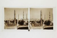Costantinopoli Obelisk Turchia Turkey Placca Da Lente Stereo Positivo