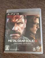 PS3 Metal Gear Solid V Ground Zeroes  66323  Japanese ver from Japan