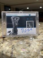 2019-20 Panini Noir BRANDON CLARKE RC Rookie Tag Logo Jersey Patch Auto RPA #1/5