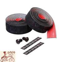 CICLOVATION VELVET TOUCH BLACK/RED  BICYCLE HANDLEBAR BARTAPE BAR TAPE