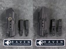 RAVEN CONCEALMENT VG3 VANGUARD 3 STREAMLIGHT TLR-1 HL S OVERHOOK TUCK HOLSTER