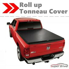 Black Lock Roll Up Tonneau Cover Bed Cover for 2004-2019 FORD F-150 5.6F Bed