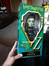 Living Dead Doll Walpurgis Evil Witch Lost In Wizard Of Oz Mip Mezco Sealed