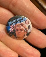 VINTAGE DURAN DURAN PIN BADGE EARLY 1980's