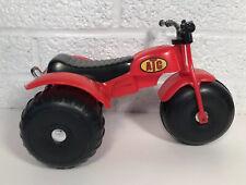 Vintage Processed Plastic ATV 3 Wheeler Trike ATC Toy