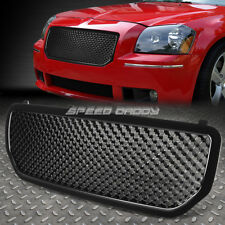 SPORT HONEYCOMB MESH FRONT BUMPER ABS GRILL/GRILLE/FRAME 05-07 DODGE MAGNUM LX