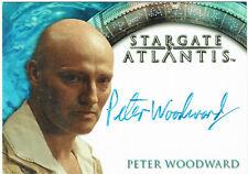 Stargate Atlantis Season 2 Autograph Trading Card Peter Woodward as Otho