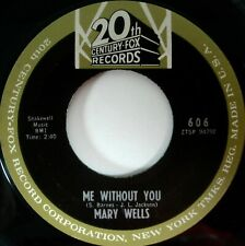 Mary Wells Me Without You 45 20th Century Fox Northern Soul