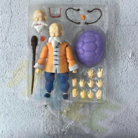 Master Roshi PVC Action Figure S.H Figuarts Dragon Ball Z Statue 14cm in Box