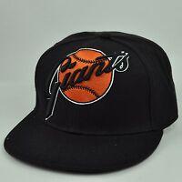 MLB American Needle San Francisco Giants Black Fitted 7 1/4 Hat Cap Flat Bill