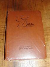 French Bible, MacArthur Study Bible, Revised Segond, La Sainte Bible Im Leather