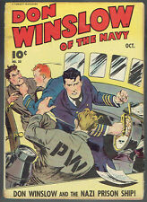DON WINSLOW OF THE NAVY  20  VG-/3.5  -  Nice early issue from 1944!