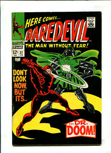 DAREDEVIL 37 DR. DOOM (7.0) 1968