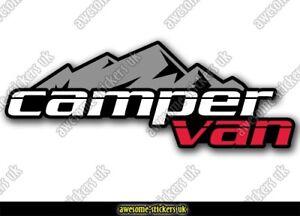 2 x Campervan stickers 078 decal VANLIFE Motorhome camper van Transporter T5 T6