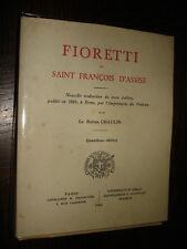 FIORETTI DE SAINT FRANÇOIS D'ASSISE - Baron Chaulin 1944