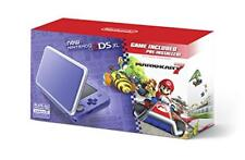 2DS XL Hardware Purple & Silver With Mario Kart 7 Pre-Installed (Nintendo 3DS)