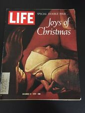 Vintage December 1972 LIFE Back Issue Magazine - Special Double Issue Christmas