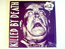 KILLED BY DEATH # 12 LP ALL AMERICAN PUNK COLOR VINYL LUBRICANTS STAINS REJECTS