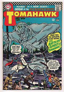 DC SILVER AGE WESTERN TOMAHAWK #106 1966 HIGH GRADE NM