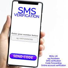 SMS verification code forwarding service active UK SIM Card +44 PVA App o2 ee