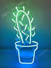 "New Cactus Neon Sign Acrylic Gift Light Lamp Bar Wall Room Decor 15""x10"""