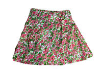 Marco Polo Womens Size 16 Floral Cotton Blend Fit And Flare Skirt