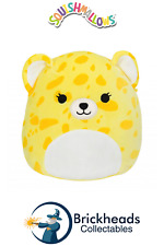 "SQUISHMALLOWS Kellytoy - Lexie the Cheetah | 12"" Inch BRIGHTS Collectable Plush"