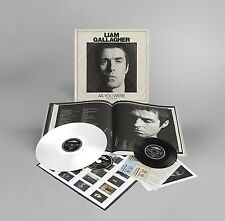 """Liam Gallagher as You Were LP 7"""" CD Warner Bros. Records 2017"""