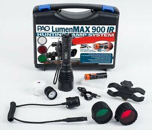 PAO® LumenMAX 900 IR Hunting Lamp & Infra-Red Night Vision Illuminator System