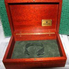ROLEX Edelholz    Box * 69.00.09   mit Umkarton  Vintage Uhrenbox  TOP ZUSTAND
