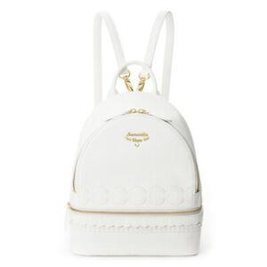 Anime sailor moon Princess Serenity white bag backpack cosplay costume
