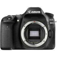 Used excellent condition Canon EOS 80D 24.2 MP Digital SLR Camera - Black