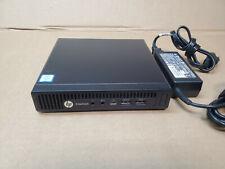 HP EliteDesk 800 G2 Mini WiFi i5-6500T 6th Gen Quad 2.5Ghz 4GB RAM X 128SSD