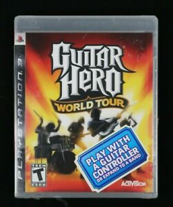 Guitar Hero: World Tour (Sony PlayStation 3, 2008) Tore plastic on Bottom