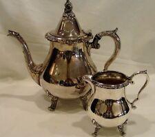 Wallace 1100 Silverplate Coffee or Tea Server & Creamer
