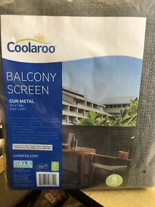 Coolaroo Balcony Screen 3m By 1.5 M