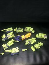 VTG Transformers Construction Figure Weapon Lot Scavenger Mixmaster Long Haul +