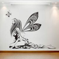 Large Wall Decal Sticker Art Removable Waterproof Vinyl Transfer Fairy & Wings