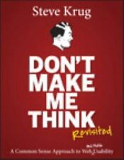 Don't Make Me Think, Revisited: A Common Sense Approach 3ED... Eb00k