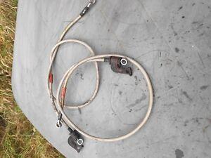 yamaha vmax vmx1200 goodridge front brake caliper pipes hoses lines   box 59
