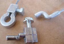 Bowdenzug Bautenzug +Schraubnippel für Rasenmäher und Motorgeräte - Seil einzeln